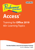 Professor Teaches Access for Office 2019 (Win - Download)