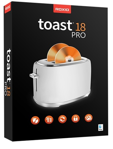 Toast 18 Pro (Mac - Electronic Software Delivery)