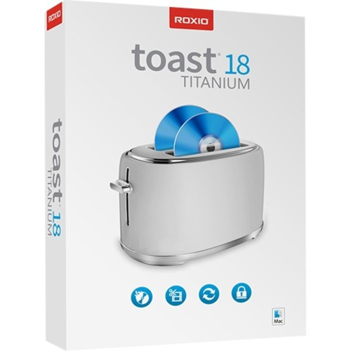 Roxio Toast 18 Titanium (Mac - Electronic Software Download)