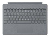 Microsoft Surface Pro Signature Type Cover - Light Charcoal 11.8x8.64x0.02in Box 1 Year Warranty