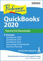 Professor Teaches QuickBooks 2020 - Tutorial Set (Win - Download)