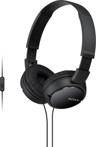 ZX Series Stereo On-Ear Headphones with Mic - Black BP