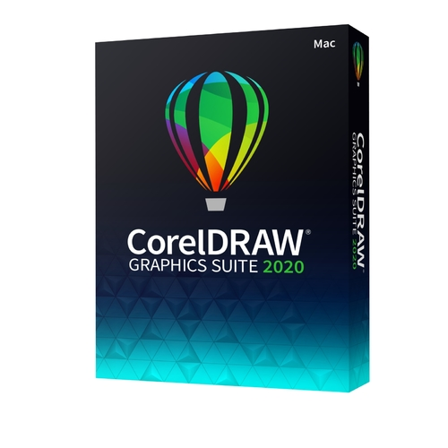CorelDRAW Graphics Suite 2020 (Mac - DVD)