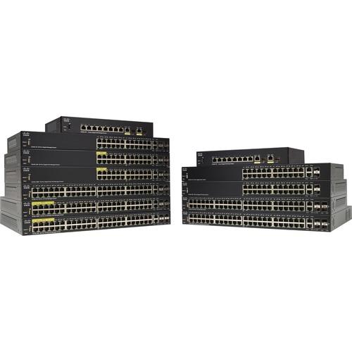 SF350-24P 24-port 10/100 POE
