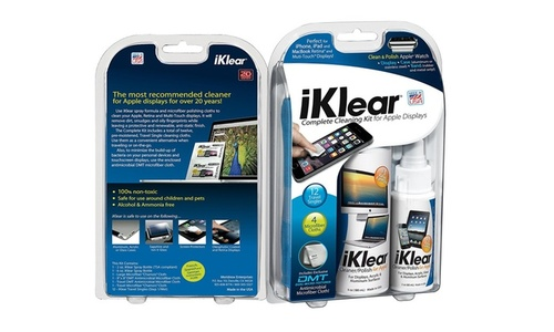 iKlear Complete Cleaning Kit - Blue 2oz-6oz