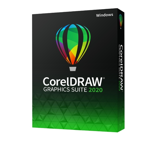 CorelDRAW Graphics Suite 2020 (Windows - Electronic Software Delivery)