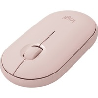 M350 PEBBLE WRLS MOUSE ROSE