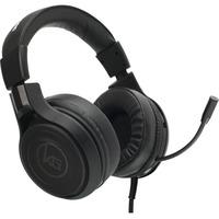 BLACK 3.5MM HEADSET W/MIC & PC