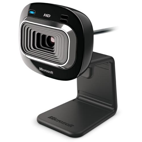 Microsoft LifeCam HD-3000 Wired Web Camera - Black 1.8x1.5x4.3in 1Ct Box 3 Year Warranty