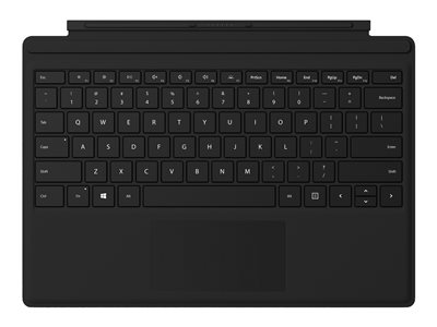 Microsoft Surface Pro Signature Type Cover with Fingerprint Reader - Black