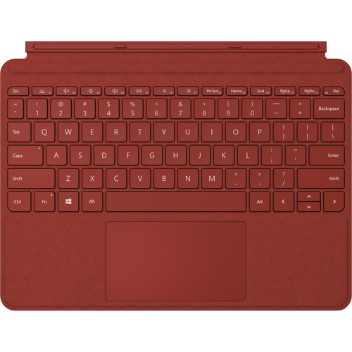 Microsoft Surface Go Signature Type Cover Commercial - Poppy Red Box 1 Year Warranty