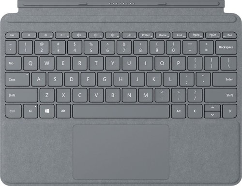 Microsoft Surface Go Signature Type Cover Commercial - Light Charcoal Box 1 Year Warranty