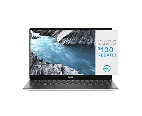 XPS 13 (9300) Laptop Cfg 3 Touch Silver 13.4in FHD+ 1 Year Onsite Warranty i7-1065G7/8/256GB