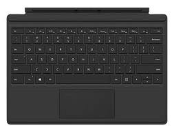 Microsoft Surface Go Type Cover Commercial - Black 1 Year Warranty