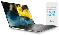 XPS 15 (9500) Laptop Cfg 1 Non-Touch Platinum Silver 15.6in FHD+ 1 Year Onsite Warranty  i7-10750H/8/256GB