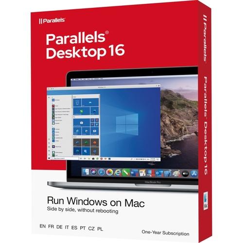Parallels Desktop 16 - #1 App to Run Windows on your Mac - Key Card - 1 Year Sub