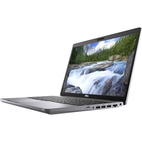 """Dell Latitude 5000 5510 15.6"""" Notebook - Full HD - 1920 x 1080 - Intel Core i5 (10th Gen) i5-10210U Quad-core (4 Core) 1.60 GHz - 8 GB RAM - 256 GB SSD - Windows 10 Pro - Intel UHD Graphics 620 - English (US) Keyboard - IEEE 802.11ax Wireless LAN Standard"""
