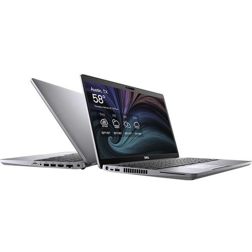 "Dell Latitude 5000 5511 15.6"" Notebook - Full HD - 1920 x 1080 - Intel Core i7 (10th Gen) i7-10850H Hexa-core (6 Core) 2.70 GHz - 16 GB RAM - 256 GB SSD - Windows 10 Pro - Intel UHD Graphics - English (US) Keyboard - IEEE 802.11ax Wireless LAN Standard"