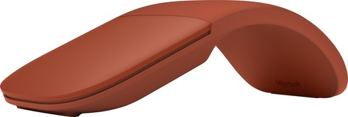 Microsoft Surface Arc Wireless Bluetooth Mouse - Poppy Red