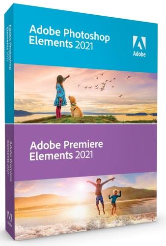 Photoshop Elements & Premiere Elements 2021 Student and Teacher Edition DVD