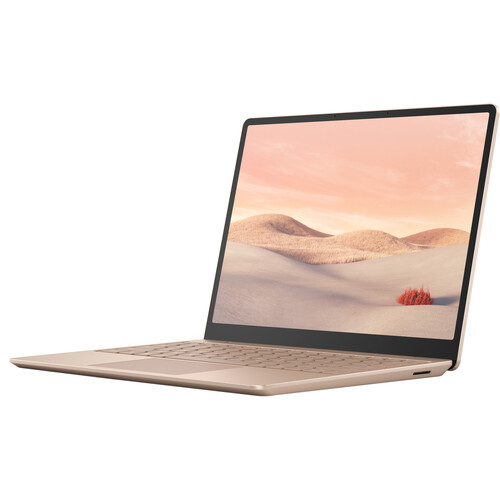 """Microsoft Surface Laptop Go 12.4"""" Touchscreen - i5 - 8GB - 128GB - Win 10 Home S - Sandstone"""