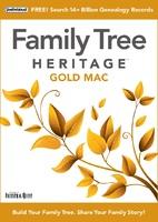 FamilyTree Heritage GOLD 16 (Mac - Download)