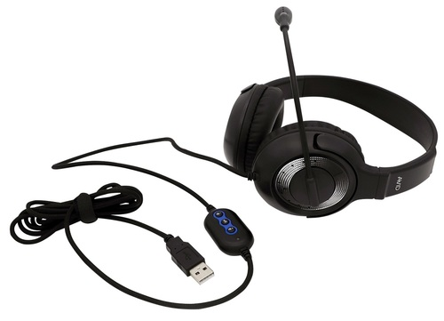 AE-55 Headset - USB - Black