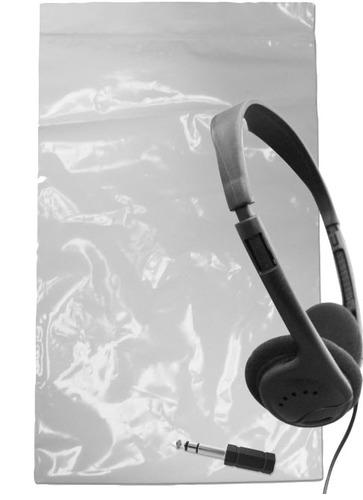 Avid Products Headphone Storage Bags - White 59x28x40cm 2000Ct BP