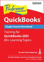 Professor Teaches QuickBooks 2021 (Win - Download)