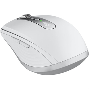 Logitech MX Anywhere 3 - Darkfield - Wireless - Bluetooth/Radio Frequency - 2.40 GHz - Pale Gray - USB - 4000 dpi - Scroll Wheel - 6 Button(s)