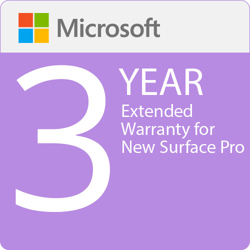 Surface Pro - Microsoft Extended Hardware Service (EHS) Plan - 3 Years