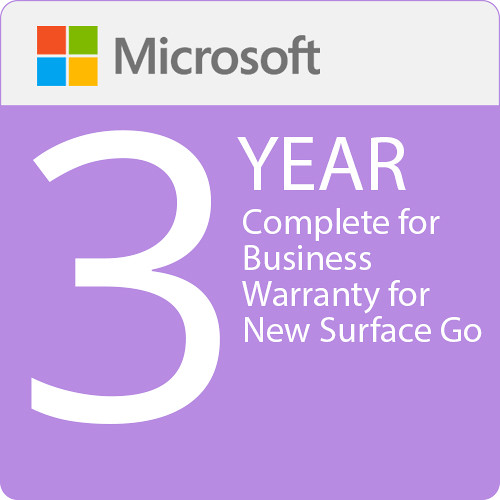 Surface Go - Microsoft Complete for Business (with ADP) - 3 Years