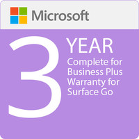 Surface Go - Microsoft Complete for Business (with ADP) + Replacement Express Shipping - 3 Years