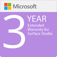 Surface Studio - Microsoft Extended Hardware Service (EHS) Plan - 3 Years