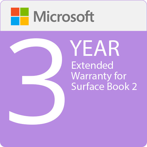 Surface Book - Microsoft Extended Hardware Service (EHS) Plan - 3 Years