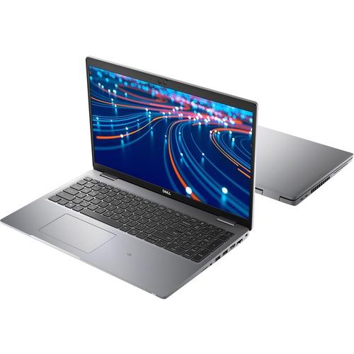 "Dell Latitude 5000 5520 15.6"" Notebook - Full HD - 1920 x 1080 - Intel Core i5 (11th Gen) i5-1145G7 Quad-core (4 Core) 2.60 GHz - 16 GB RAM - 256 GB SSD - Gray - Windows 10 Pro - Intel Iris Xe Graphics - In-plane Switching (IPS) Technology - English (US) Keyboard - IEEE 802.11ax Wireless LAN Standard"