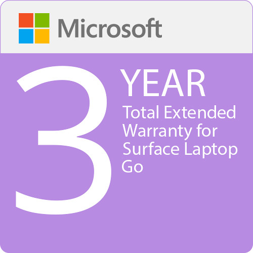 Surface Laptop Go - Microsoft Extended Hardware Service (EHS)  - 3 Years