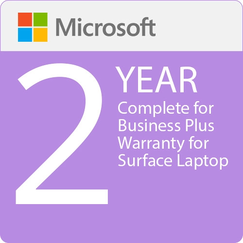 Surface Laptop - Microsoft Complete for Business Plus (with ADP) + Replacement Express Shipping - 2 Years
