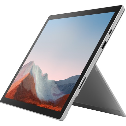 Microsoft Surface Pro 7+ LTE Commercial Platinum 12.3in 1 Year Warranty i5/8/256GB/4G LTE Box