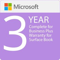 Surface Book - Microsoft Complete for Business (with ADP) + Replacement Express Shipping - 3 Years