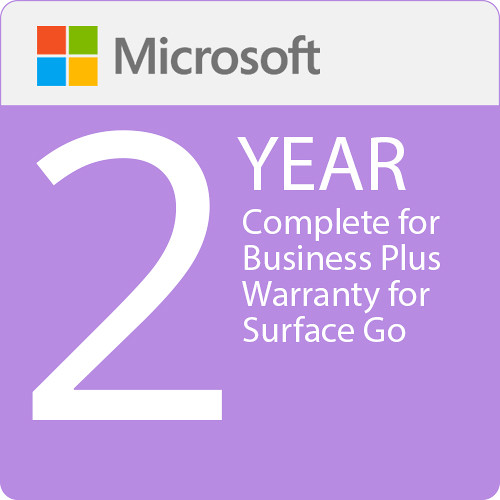Surface Go - Microsoft Complete for Business Plus (with ADP) + Replacement Express Shipping - 2 Years