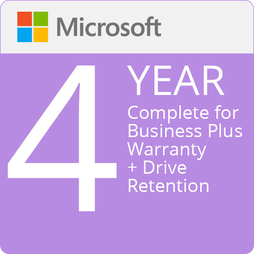 Surface Pro X - Microsoft Complete for Business Plus (with ADP + Drive Retention) - 4 Years