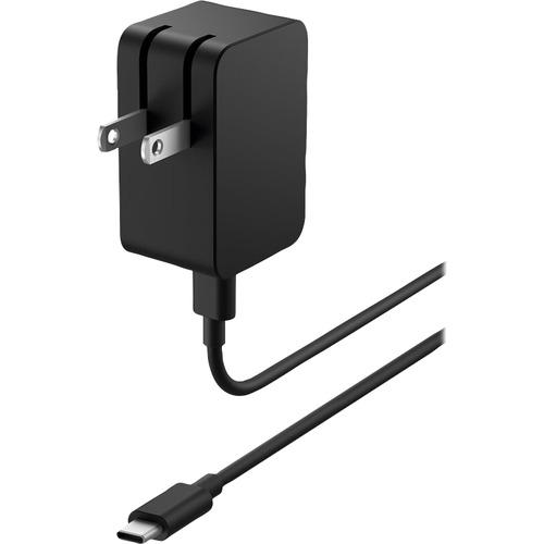 Microsoft Surface 18W USB-C Power Supply - Black USB-C