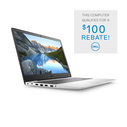 Dell Inspiron 15 3000 (3505) Laptop Computer Config 4 Non-Touch Snowflake 15.6in FHD 1 Year Onsite Warranty Ryzen 3 3250U/8/256GB