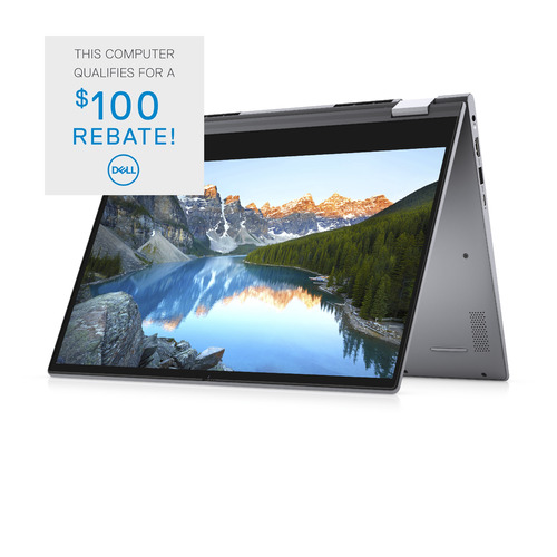 Dell Inspiron 14 5000 (5406) 2-in-1 Computer Config 5 Touch Titan Gray 14in FHD 1 Year Onsite Warranty i7-1165G7/12/512GB