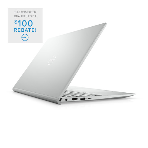 Dell Inspiron 15 5000 (5502) Laptop Computer Config 5 Non-Touch Platinum Silver 15.6in FHD 1 Year Onsite Warranty i7-1165G7/12/512GB