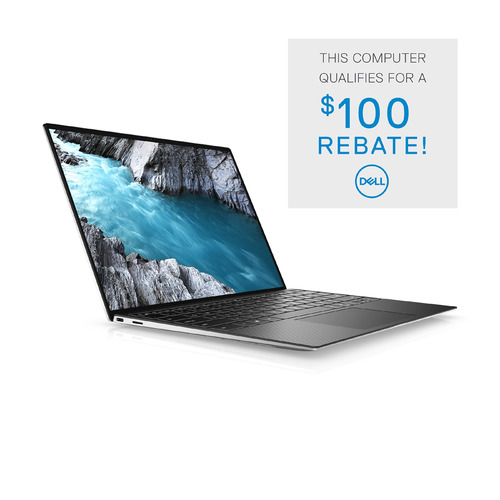 Dell XPS 13 9310 Laptop Computer Config 2 Non-Touch Platinum Silver 13.4in FHD+ 1 Year Onsite Warranty i5-1135G7/8/256GB
