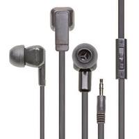 Califone E3 Multimedia Ear Bud With 3.5mm Plug - Stereo - Black - Mini-phone (3.5mm) - Wired - Earbud - Binaural - In-ear - 3.90 ft Cable