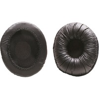 Califone EP-CA2 Replacement Earcup Covers for CA-2 Headphones - 1 Pair - Black - Foam
