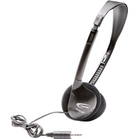 Califone Digital Stereo Headphones - Stereo - Black - Mini-phone (3.5mm) - Wired - 32 Ohm - 20 Hz 20 kHz - Over-the-head - Binaural - Supra-aural - 3 ft Cable